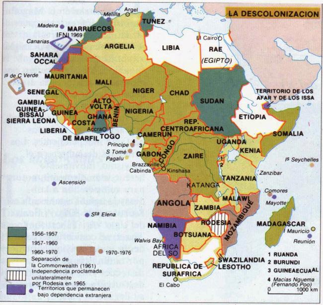 Canarias est en la lista de la Unin Africana